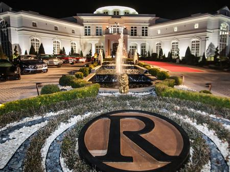 Inside Rick Ross's mega mansion with more than 100 rooms in Georgia.