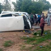 Another Accident Occurs Along Malindi-Mombasa Highway, Same Spot That Claimed Over 15 Lives (Photos)