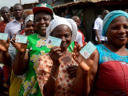 INEC Chairman Announced The Resumption Of Voter's Card Registration