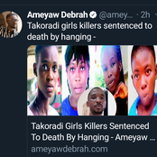 Two Nigerians Sentenced To Death By Hanging In Ghana