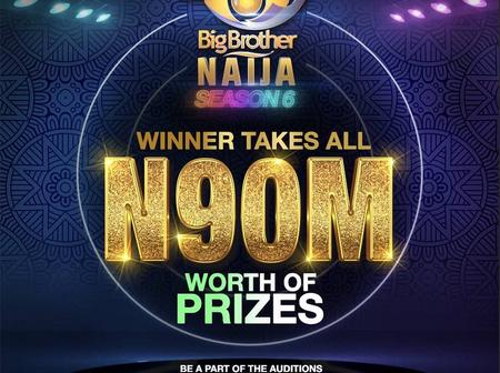 JUST IN: Big Brother Naija Announces Audition For Season Six, 90 Million Naira Grand Prize