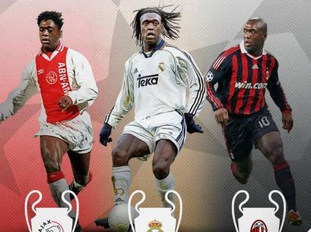 Meet the only footballer who has won the Champions League trophy with 3 different clubs