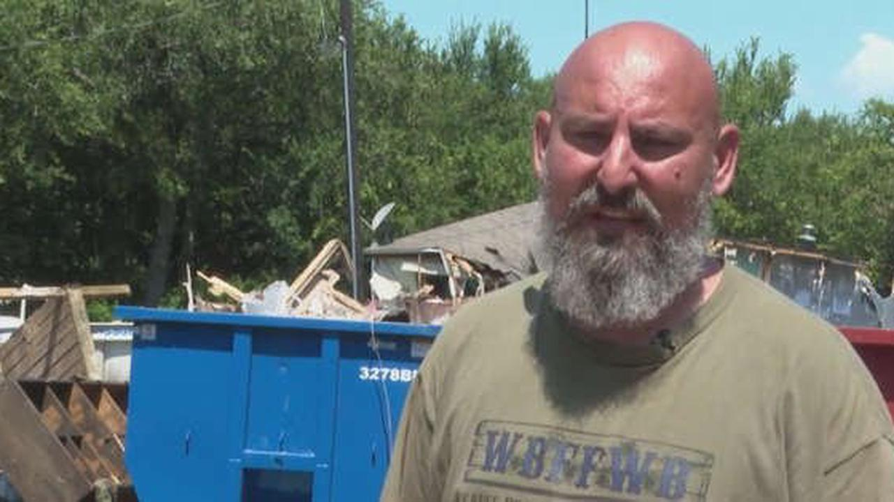 North Texans Come Together To Help Veteran, Family After House Burns Down