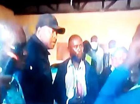 Chaos Erupts as Rashid Echesa Slaps an IEBC Official in Matungu