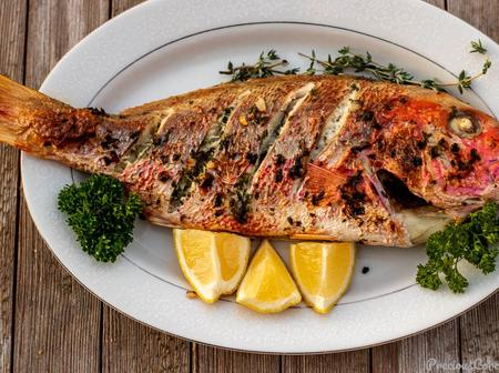 Grilling a whole fish with marinade is surprisingly easy. Follow this recipe to learn how it's made.