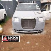 Kenyans Never Disapoint, A Man Transforms Probox Into A Wonderful Vehicle