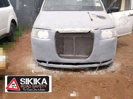 Kenyans Never Disapoint, A Man Transforms Probox Into A Wonderful Vehicle