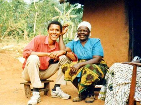 Few Hours After Barack Obama Lost His Grandmother In Kenya, See What He Said That Got Reactions