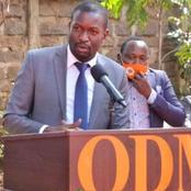 Popular ODM Mp Reveals The Only Mission That They Have Been Left With Ahead Of 2022 Polls