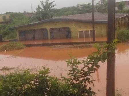 The devastating effects of Erosion in Uzebu community, Benin City, Edo state, Nigeria
