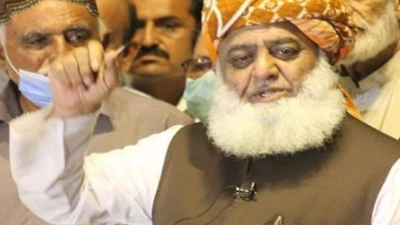 Pakistan must recognise Taliban govt: Fazlur Rehman