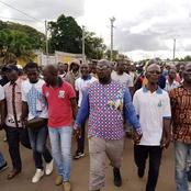 Marche contre le troisième mandat : des populations ont manifesté ce mercredi à Saïoua