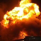 انفجار خط غاز بأكتوبر و10 سيارات إطفاء تحاول اخماده.. وانقلاب أتوبيس بمدينة العاشر