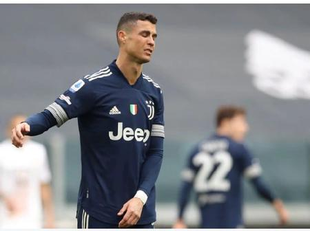Cristiano Ronaldo Sets An Unwanted Record.