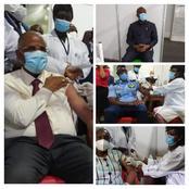 Vaccination COVID-19 : voici les premières autorités du pays qui ont reçu leur dose de vaccin