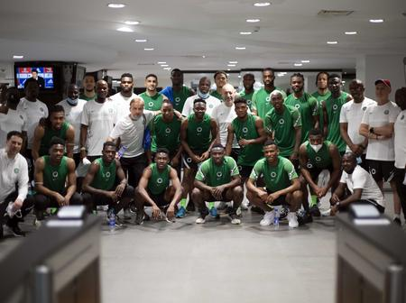 AFCON 2021 Qualification: Check Out List Of Super Eagles Players In Camp(See Photos)
