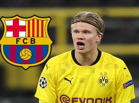 Erling Haaland soon set for Barcelona Transfer
