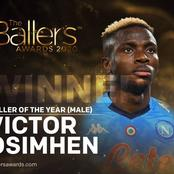 Osimhen, Oshoala among the winners of the 2020 Ballers Award, see full list