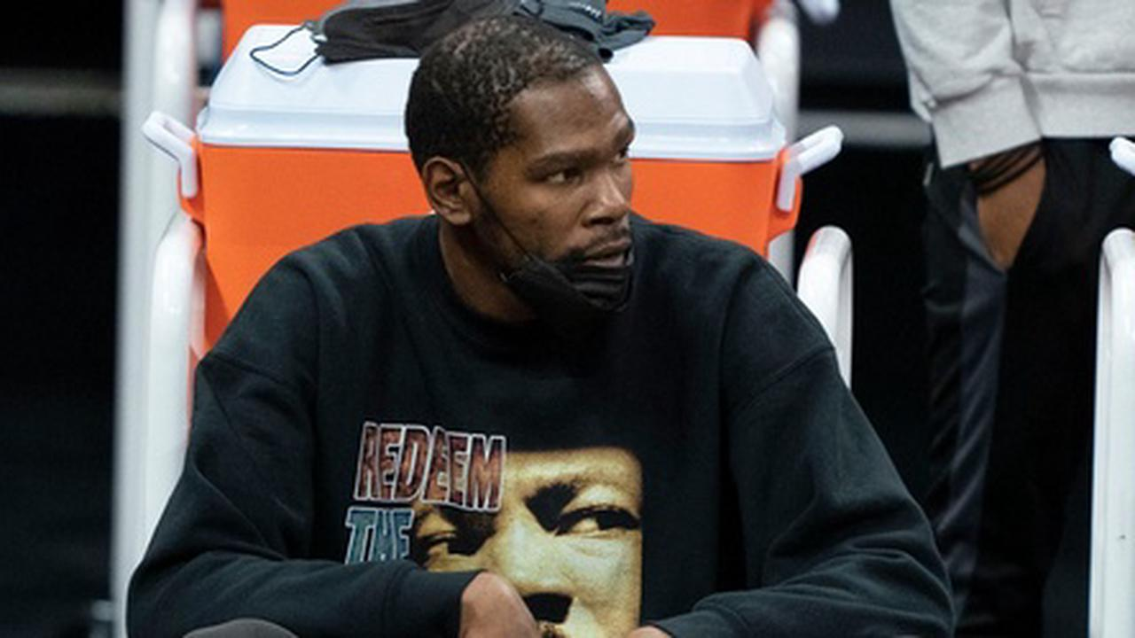 Report: Durant to Remain All-Star Game Captain Despite Not Playing