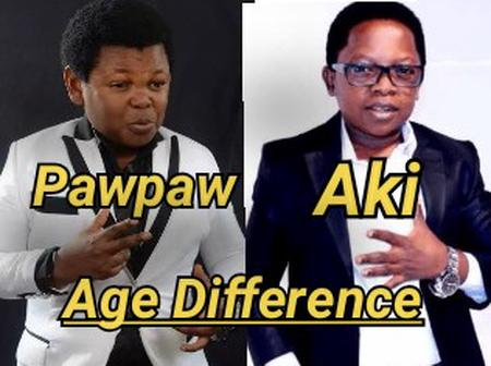 Osita Iheme(Pawpaw) Is 39 Years Old Today, Check Out The Age Difference Between Him & Chinedu Ikedieze(Aki)