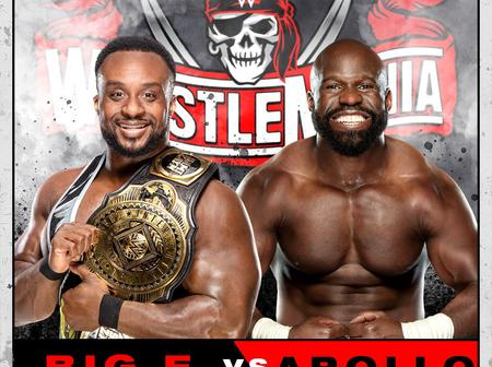 Nigerian Wrestler to Fight For WWE Intercontinental Title at WrestleMania 37