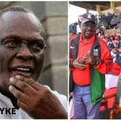David Murathe Express A Lot of Concern Over Rumored Ruto-Raila Alliance