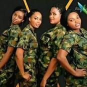 See 35 Stunning Photos of Nigerian Female Soldiers Slaying In Their Various Uniforms