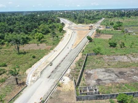 Checkout Pictures Of The N120 Billion Bonny Bodo Road