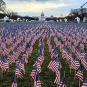 Investiture de Joe Biden : 190.000 drapeaux installés en lieu et place du public, voici les raisons