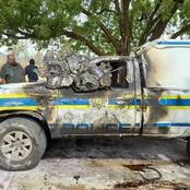 Community Damages Police Van In Protest Over Teen's Murder In Limpopo