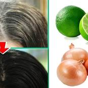 Forget About White And Grey Hair By Using These Home Remedies