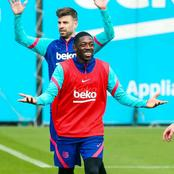Barcelona Players Gearing Up Ahead Of Coper Del Rey Final Against Athletic Bilbao