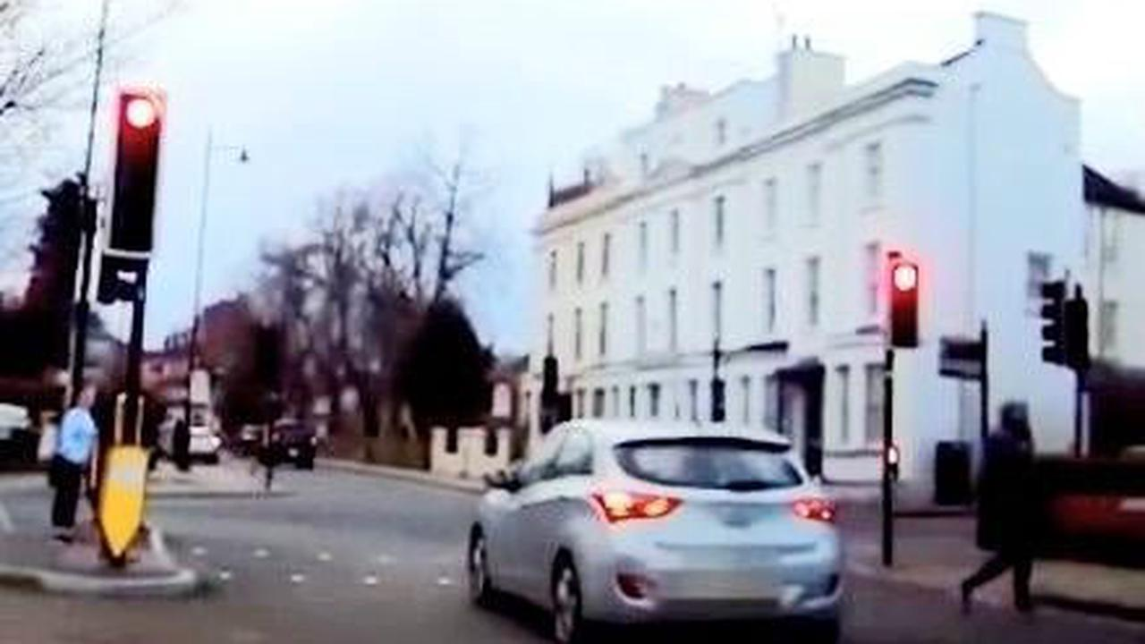 WATCH: Head-on near-misses and running red lights in Northants as dodgy drivers caught on dashcam