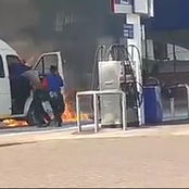Petrol Attendant Saved The Petrol Station From Burning Down In KZN (see this)
