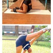 Talented African: See top-10 photos of female contortionist in different postures