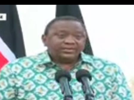 Uhuru's Impromptu Speech Discloses Raila is Covid-19 Free And Gives Donations To Other Countries