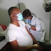 Vaccin Covid-19 : Touré Mamadou se fait vacciner et s'attire la sympathie des Ivoiriens