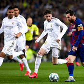 Real Madrid vs Barcelona El Clasico Ended 2-1, See The Changes In The La Liga Table After The Game