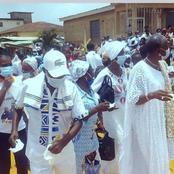 Grand-Alépé : les fidèles catholiques dansent en fanfare pour la libération de Gbagbo et Blé Goudé