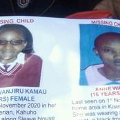 Help Us Find These Two School Girls