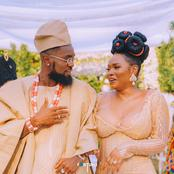 Reactions As Pictures Of Pantoranking And Yemi Alade's Wedding Surfaced Online