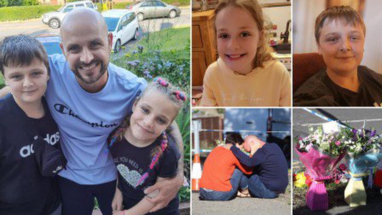 Heartbroken dad of children 'murdered during sleepover' says 'I need my babies back'