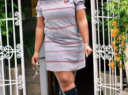 Viatu Nazo? Betty Kyallo Wows Netizens With The Shoes She Had Put On.