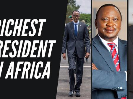 Richest African president of 2020