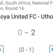 Uthongathi FC impressed with a 2-0 win against Cape Umoya United away from home.(Opinion)