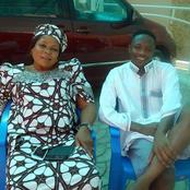 Photos Of Ahmed Musa And His Late Mother