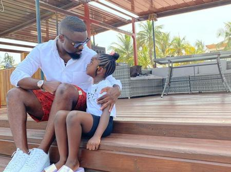See Adorable Photos of 10 Ghanaian Male Celebrities with their Kids That will Make Your Day