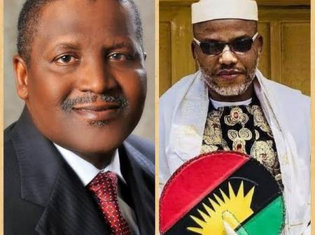 Opinion: Nnamdi Kanu Is Wrong, Dangote Is More Of A Blessing To Nigeria Than A Problem