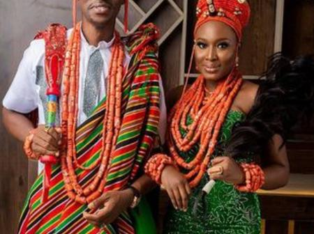 Bimpe Oyebade And Lateef Adedimeji In Traditional Attire, See Reactions