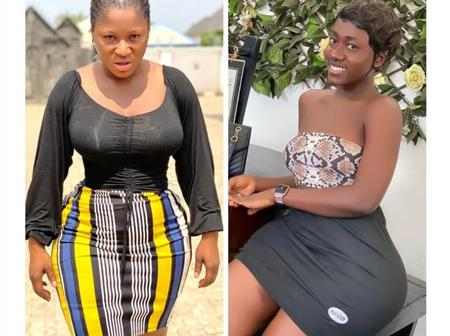 Hajia bantu and Destiny Etiko who is more beautiful without make-up?
